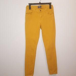 Old Navy rockstar color pop skinny jeans